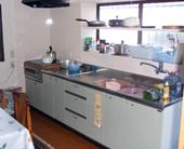 キッチン全面改装2